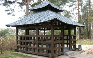 Японская беседка на даче
