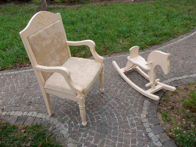Мебель для беседки в стиле прованс