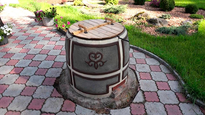 Декор стационарного тандыра