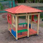 Беседка для детской площадки