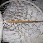 Плетение кресла шаг 9