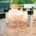 свайный фундамент из бетона