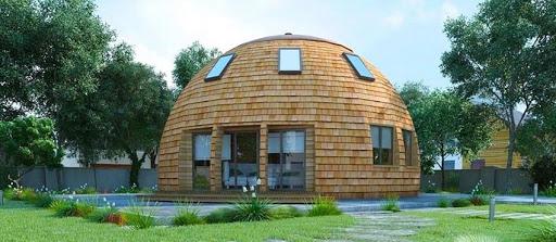 Беседка с купольной крышей