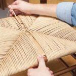 Как отремонтировать плетёную мебель 4