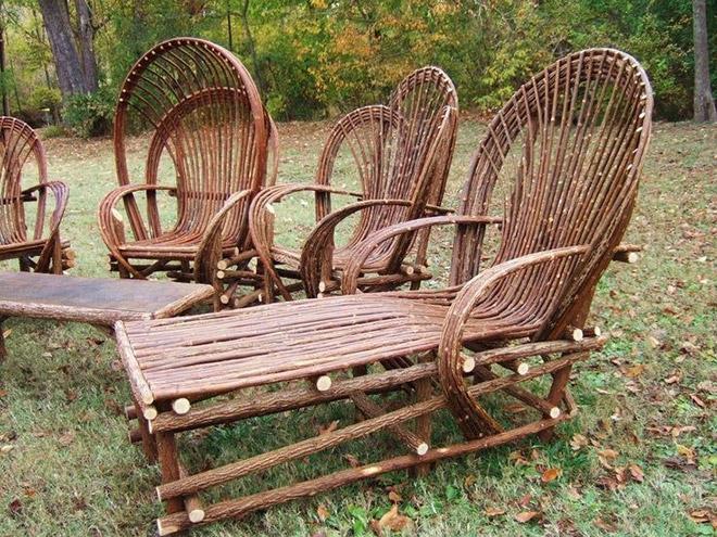 Кресло-качалка своими руками - сплести сможет каждый